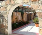 Stone Arch walkway to courtyard